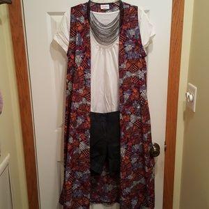 Lularoe Joy Duster Vest